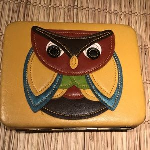 Whimsical Owl wallet